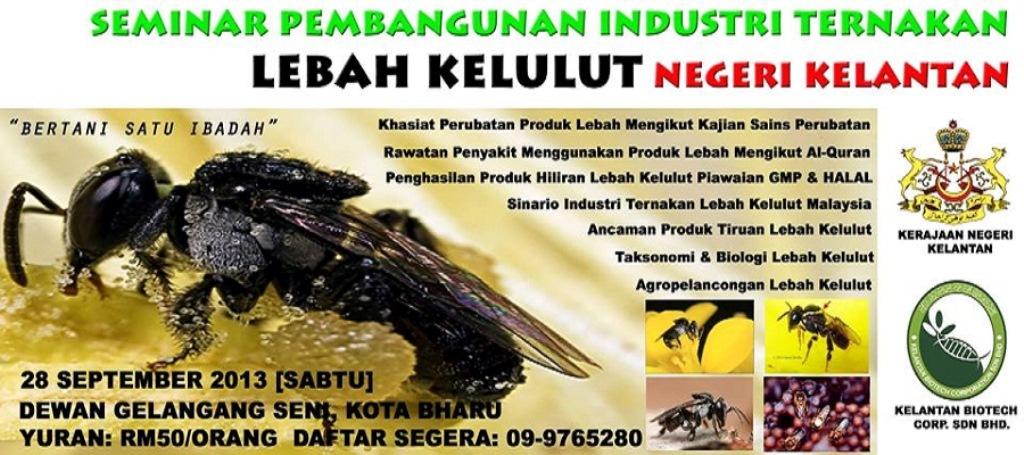 Seminar Pembangunan Industri Lebah Kelulut (WS)